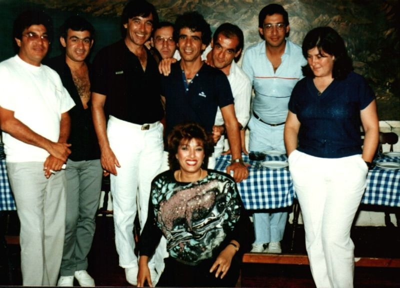 עם שוש עטרי, עופרה הלפמן וצוות ג'-אילת 1987