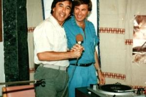 עם דן כנר באילת - 1987