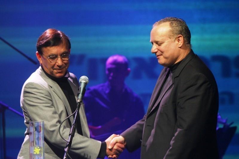 """עם יוריק בן דוד - קבלת פרס אקו""""ם 2004"""