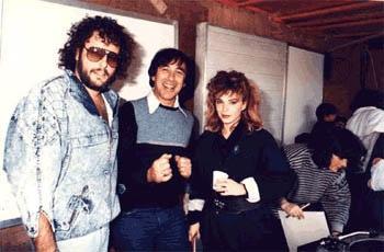 עם אריק סיני ושרון ליפשיץ שנות ה-80