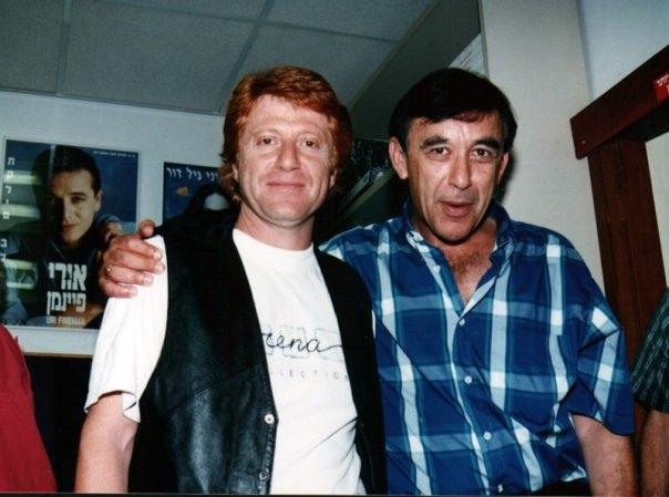 עם שמעון פרנס 1995