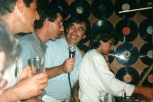 עם שוש עטרי באילת 1987